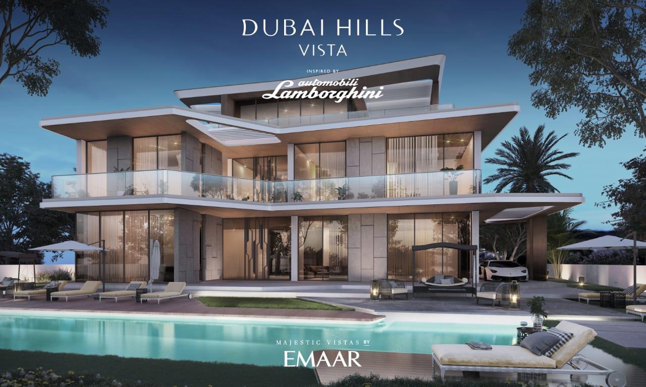 Dubai Hills Vista Lamborghini